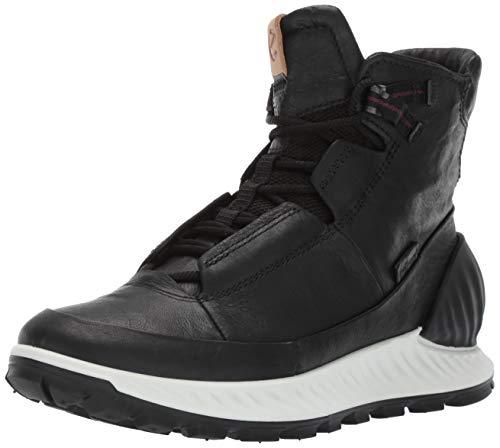 Ecco Herren EXOSTRIKEM Hohe Sneaker, Schwarz (Black/Black 51052), 45 EU