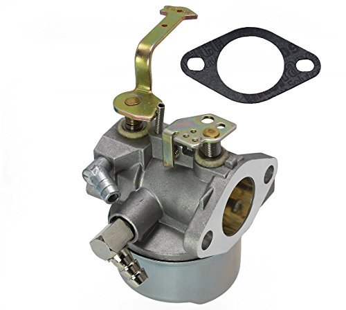 LotFancy Carburetor for Tecumseh 640152A 640023 640051 640140 640152 640260B HM80 HM90 HM100 with Gasket, 8-10 HP Engines Craftsman Lawnmower Coleman 5000w Generator