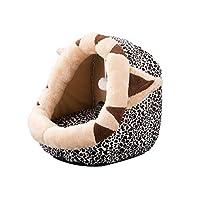 洗えるペットはペットの家用品ベッドペットベッド犬マットペットクローズパッドケンネル猫犬の巣をスリーピングバッグ小さなペットスリーピングペット (Color : C, Size : 45*42*34cm)