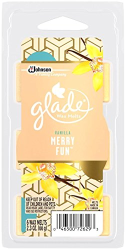 Glade Wax Melts Air Freshener Refill, Merry Fun, 2.3 Ounce