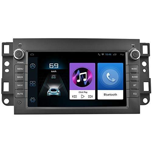 HYCy Lettore MP5 multimediale per Auto Android 9.1 da 7 Pollici per Navigazione GPS 1G + 16G WiFi