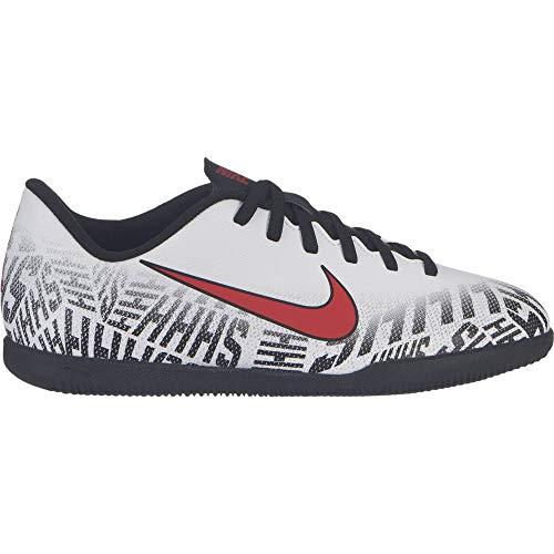 Nike Unisex-Kinder Vapor 12 Club Gs NIC Fußballschuhe, Weiß (White/Challenge Red-Black 170), 38 EU