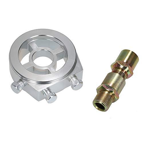 Universal Auto Ölfilter Kühler Sandwich Plate Adapter für Öltemperatur und Öldruck