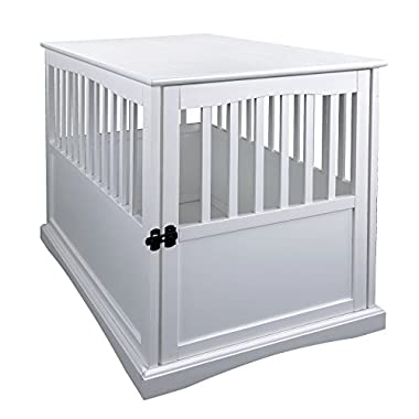 Casual Home 600-21 Pet Crate,White, 27 Inch