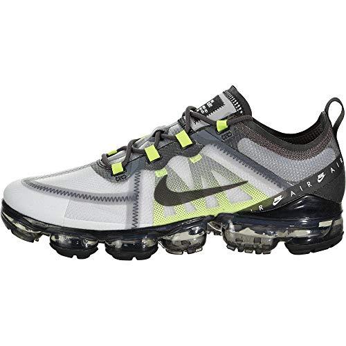Nike Air Vapormax 2019 LX, Atmosphere Grey / Black-thunder Grey-volt, 12