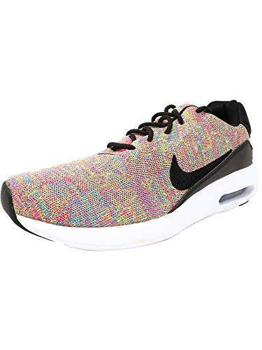 Nike Mens Air Max Modern Flyknit Photo Blue/Black-Racer Pink Running Shoes (9.5)