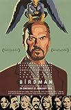 Birdman - Michael Keaton – Malaysian Film Poster Plakat