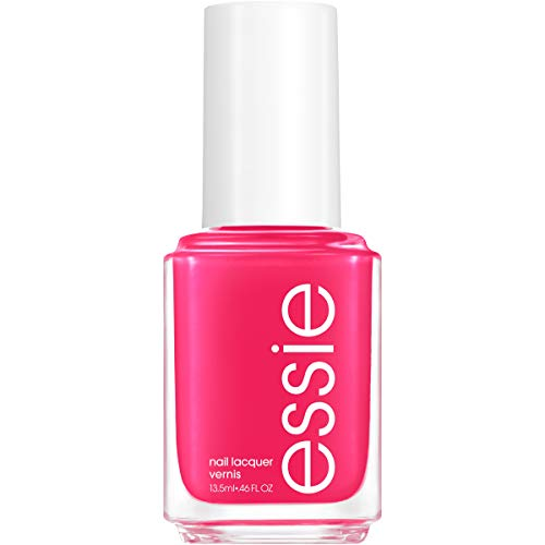 essie Nail Polish, Limited Edition Summer 2021 Collection, Electric Pink Nail Color With A Pearl Finish, Pucker Up, 0.46 Fl. Oz, Pucker Up, 0.46 fluid_ounces
