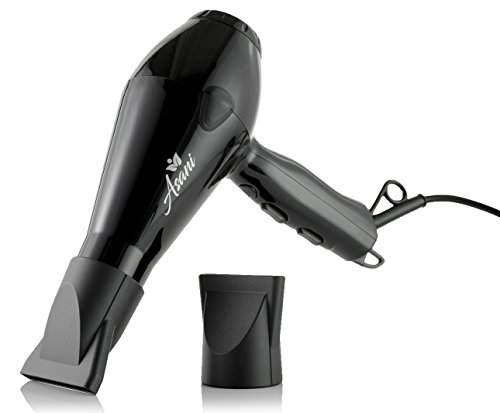 Asani Professional Hair Dryer with Anti-Frizz Ionic Conditioning | Extra-Fast/Powerful Heat Blow Dryer | Compact/Lightweight | Salon-Grade Electric Hair dryer for Women & Girls