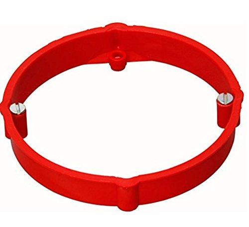 Kopp Putzausgleichsring für Abzweigdose, ø 70 mm, Höhe 12 mm, rot, 357102044