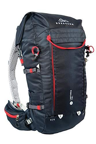NORDKAMM – Wander-Rucksack Damen u. Herren, 30l, 40 l, ergonomisch, rot, blau