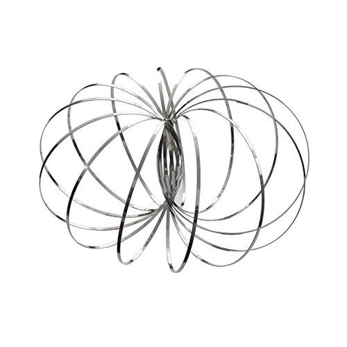 Wildlead Magic-Flow-Ringe aus Edelstahl, multisensorisch, interaktiv, 3D-Form