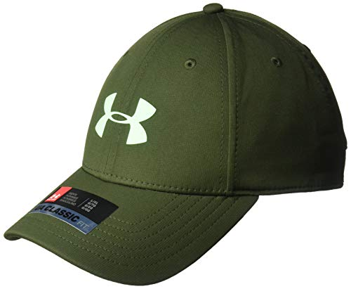 Under Armour Men's Storm Headline Hat, Artillery Green (357)/Green Typhoon, Medium/Large