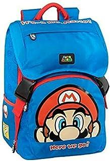 Super Mario - Mochila extensible estándar azul