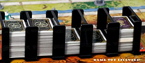 docsmagic.de Card Holder - 5-Compartment Black 520+ Mini Cards- Titular de la Tarjeta...