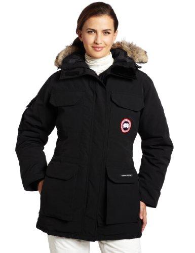 Canada Goose Women's Expedition Parka,Black,Medium