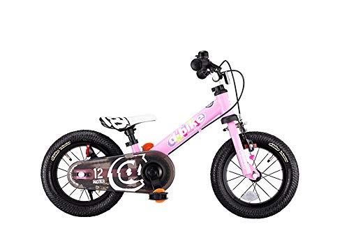 アイデス D-Bikemaster ディーバイクマスター 12 EZB ベイビーピンク ペタルレスバイク→自転車へ5秒で切り...