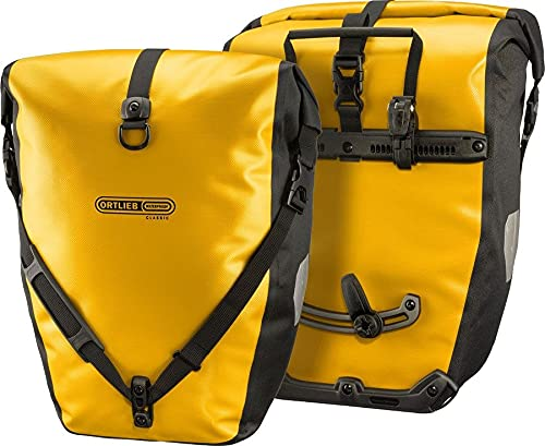 Ortlieb Unisex-Adult Back-Roller Classic Bike Bags, sunyellow-Black, One Size