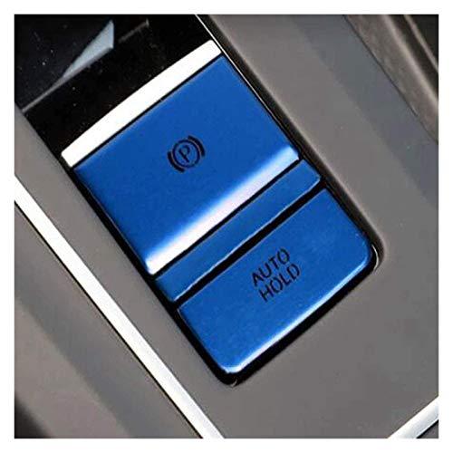 HUAER FIT FOR FOR Golf 8 MK8 2020 2021 Aluminio Central Control Engranaje Stick Skybrake Interruptor Interruptor de la Cubierta Pegatinas (Color Name : Blue)