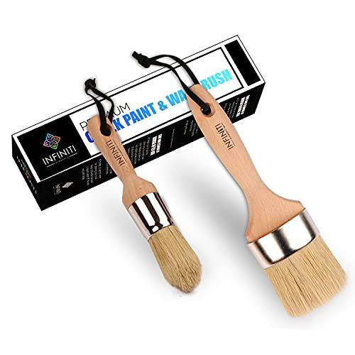 Professional Chalk and Wax Paint Brush 2PC Set!!!!...