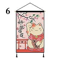 (ユーム) YOUMU 和風印刷タペストリー壁掛けバナー旗寿司レストラン家の装飾 現代壁の絵 壁掛け 部屋飾り 背景絵画 壁アートおしゃれ壁吊り