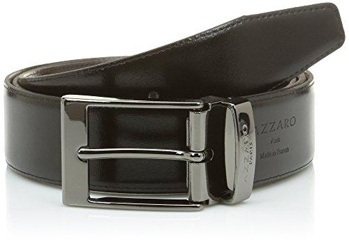 Azzaro Z1391376 Ceinture, Multicolore (Noir/Marron), FR: 110 cm (Taille fabricant: 110) Homme