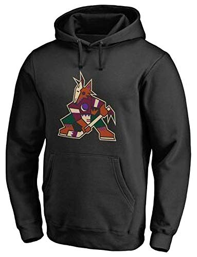Herren Sweatshirt Phoenix Coyotes Hoodie Hockey Jersey, Party Sportkleidung Trainings Trikots Langarm-Sweatshirts,XXXL