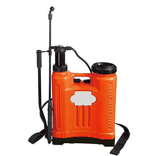 YANJ Garden Pressure Sprayer Manual Pump Action - Für Unkrautvernichter,pflanzensprüher,Garten spritze (16 Liter)