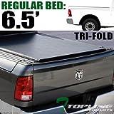 Topline Autopart Tri Fold Soft Vinyl Tonneau Cover & Rail For...