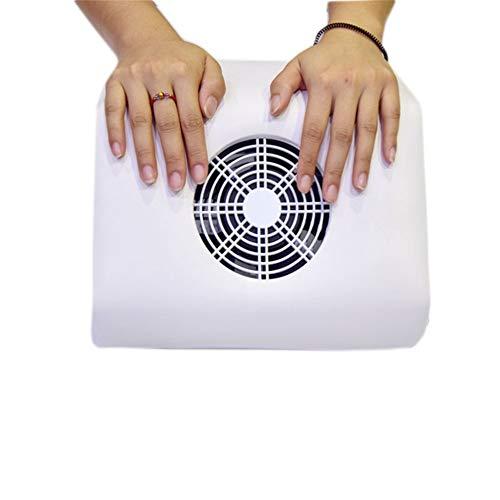 Grote Elektrische Nail Zuig Stofzuiger Collector Machine Nagels Stofzuiger Salon Manicure Pedicure Cleaning Extractor Tool met Verstelbare Speed Fans