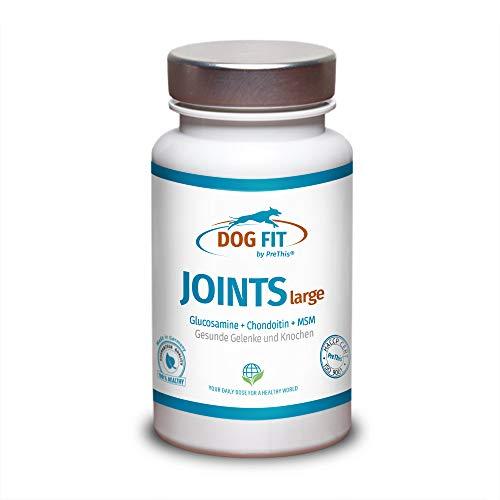 DOG FIT by PreThis Joints Large | Remedio Articular Perros con Dolor Articular | Nutrientes para articulaciones