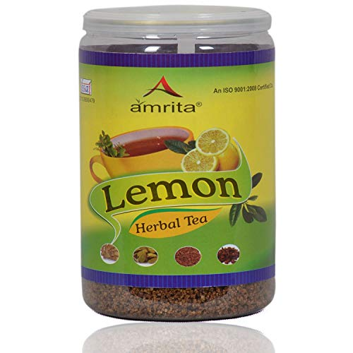 Amrita Lemon Herbal Tea - 500 Grams