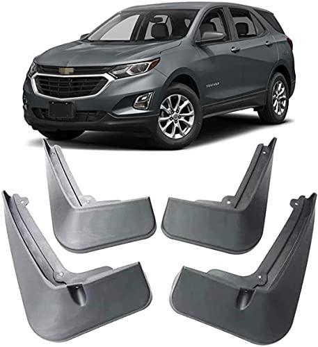 4 Piezas 100% Nuevo Coche Faldillas Antibarro Para Chevrolet Equinox 2017-2020 2018 2019, Delantero Trasero CarroceríA Impermeable Guardabarros Coche DecoracióN Accesorios