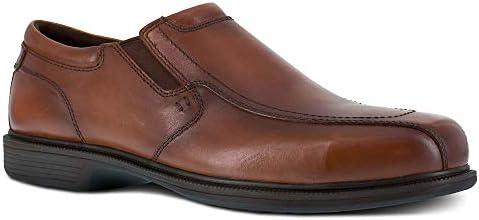 Florsheim Work Coronis Men s Steel Toe Dress Slip on Shoe Brown 11 5 X wide product image