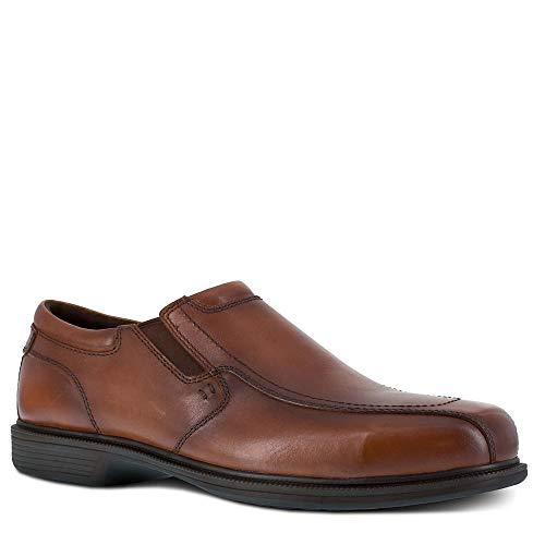 Florsheim Work Coronis Men's Steel Toe Dress Slip-on Shoe Brown - 12 Medium