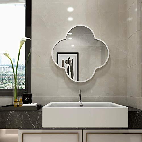 Bathroom Mirror LDFZ badkamerspiegel, decoratieve metalen wandspiegel, metaal, voor de woonkamer, badkamer, slaapkamer en ingang