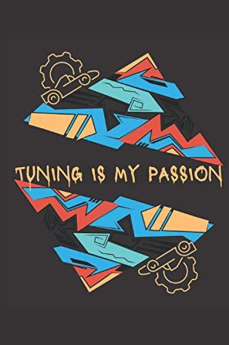 Tuning ist meine Leidenschaft Notizbuch: Tuning ist meine Leidenschaft Notizbuch Graffiti - Tolles liniertes Notizbuch - 120 linierte Seiten um ... DINA5 |Geschenk für Schrauber und Mechaniker