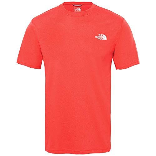Hombre The North Face M C Camiseta de Cuello Redondo Reaxion Amp