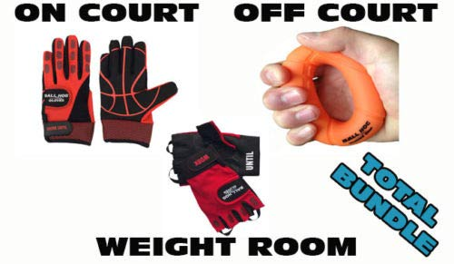 Why Should You Buy Ball Hog Dribbling Gloves + Grip Strengthener Basketball Training Aids ETC (L, XL...