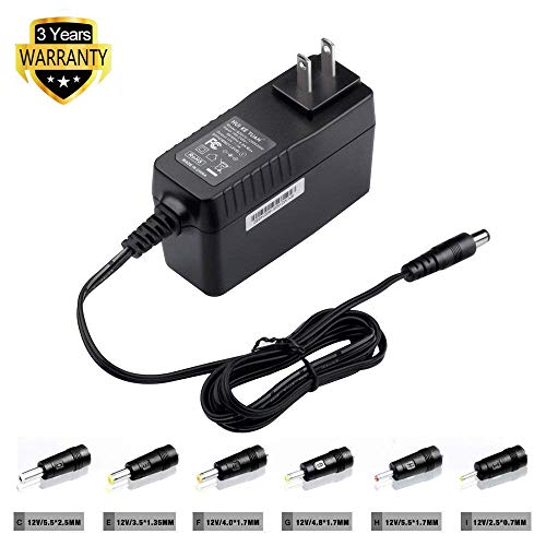TFDirect 12V Universal Power Adapter Charger for Samsung Chromebook 2 3,TFT TV Monitor,Asus Eee PC,Breast Pump,TV Box,Wireless Router,External Hard Drive,Sony/PHILIPS/Sylvania Portable DVD Player ect