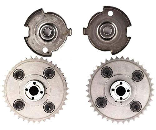 KARPAL Intake and Exhaust Variable Valve Timing VVT Sprocket and Impulse Sending Wheel Compatible With BMW E83 E90 135i 325i 328i 330i
