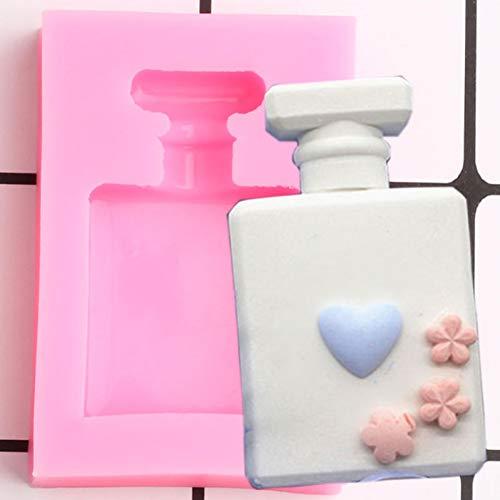 UNIYA Perfume Bottle Silicone Mold Resin ClayAromatherapy Candle Mould Fondant Cake Decorating Candy ChocolateMoulds