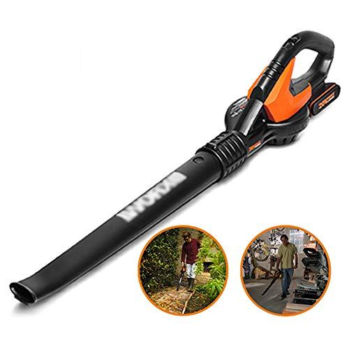 ALGWXQ Soplador de Hojas eléctrico - Soplador de jardín 3 en 1 y aspiradora y trituradora, Cambio de Velocidad Continuo, Ligero (Color : Negro)