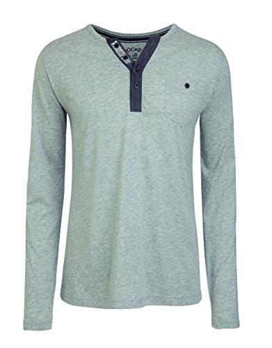 Jockey® Long Shirt, Grau Melange, Größe XL