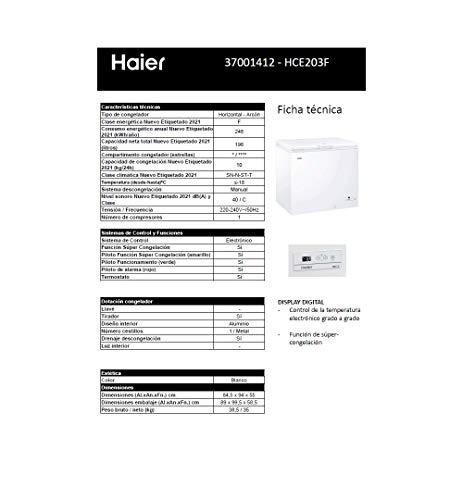 Haier HCE203F