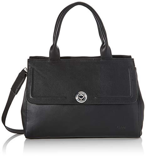 Gabor Shopper Damen, Schwarz, Isabel, 35x14,5x25 cm, Handtasche, Umhängetasche