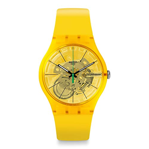 Reloj Swatch New Gent SUOJ108 Bio Lemon
