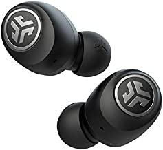 JLab Audio Go Air True Wireless Bluetooth Earbuds + Charging Case | Black | Dual Connect | IP44 Sweat Resistance | Bluetooth 5.0 Connection | 3 EQ Sound Settings: JLab Signature, Balanced, Bass Boost