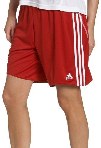 adidas–Pantaloncini B, Donna, B, University Red, White, XL