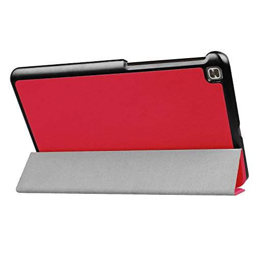 Kepuch Custer Hülle für LG G Pad IV 8.0 V533/X2 8.0,Smart PU-Leder Hüllen Schutzhülle Tasche Hülle Cover für LG G Pad IV 8.0 V533/X2 8.0 - Rot